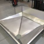 Stainless Steel Blood Recovery Trough
