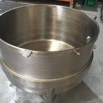 Stainless Steel Mixer Bowl
