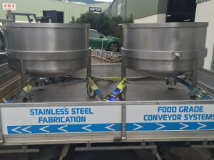 Stainless Steel Mixer Bowls